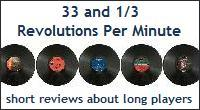 33 and 1/3 Revolutions Per Minute